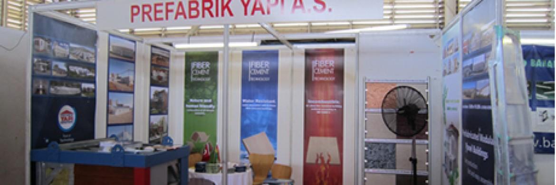 Prefabrik Yapı A.Ş. were in Africa for Ghana Fair
