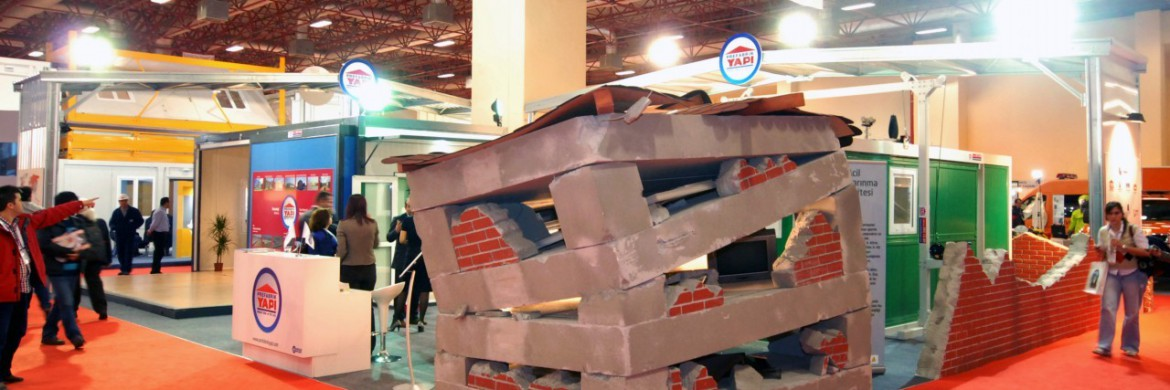 Prefabrik Yapı A.Ş. Stand has been the Focus of Interest in Disaster Management Exhibition