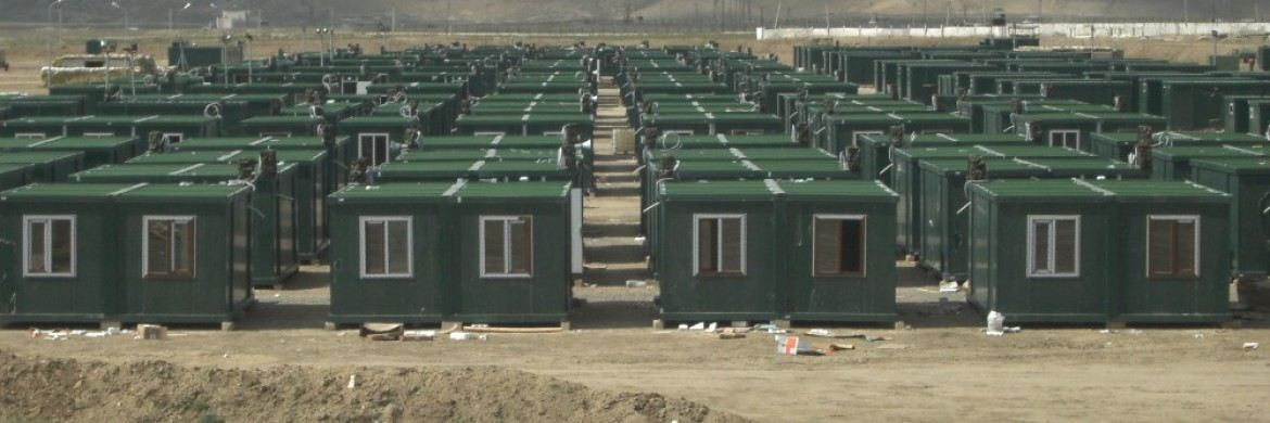 Container Camp Project Is Concluded in Azerbaijan