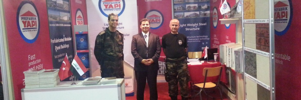 Prefabrik Yapi A.S. Was At The Basra Oil and Gas Exhibition