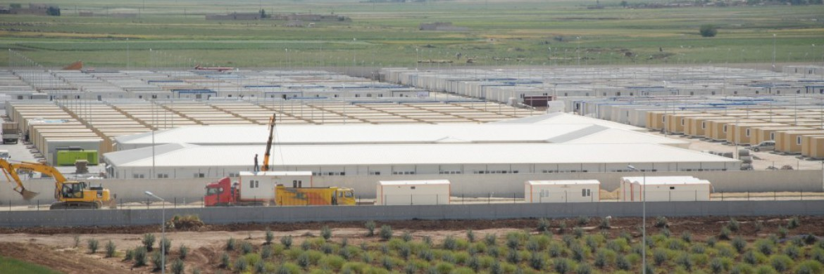 Kilis Container City Completed with Prefabrik Yapi, A.S. Containers