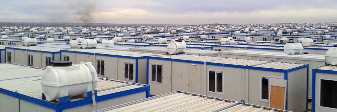 Emergency Living Containers in Iraq