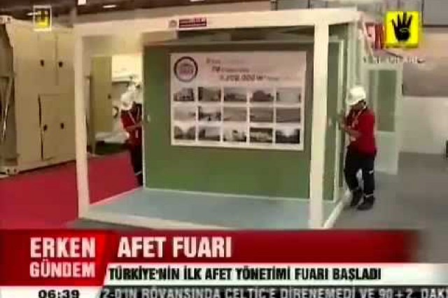 Disaster Management Exhibiton ÜlkeTV News