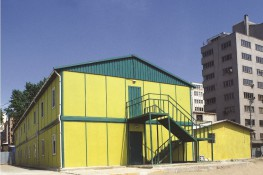 Anadolu Metro Partnership Site Buildings