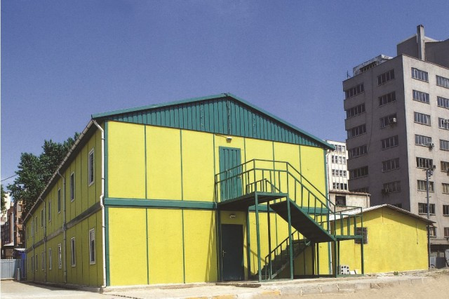 Anadolu Metro Partnership Site Buildings