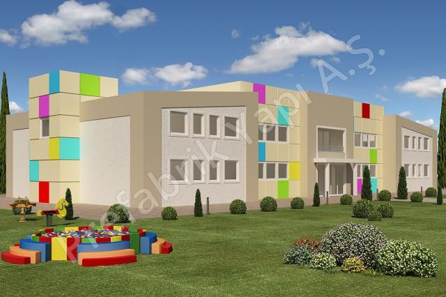 Kindergarden 1166 m2
