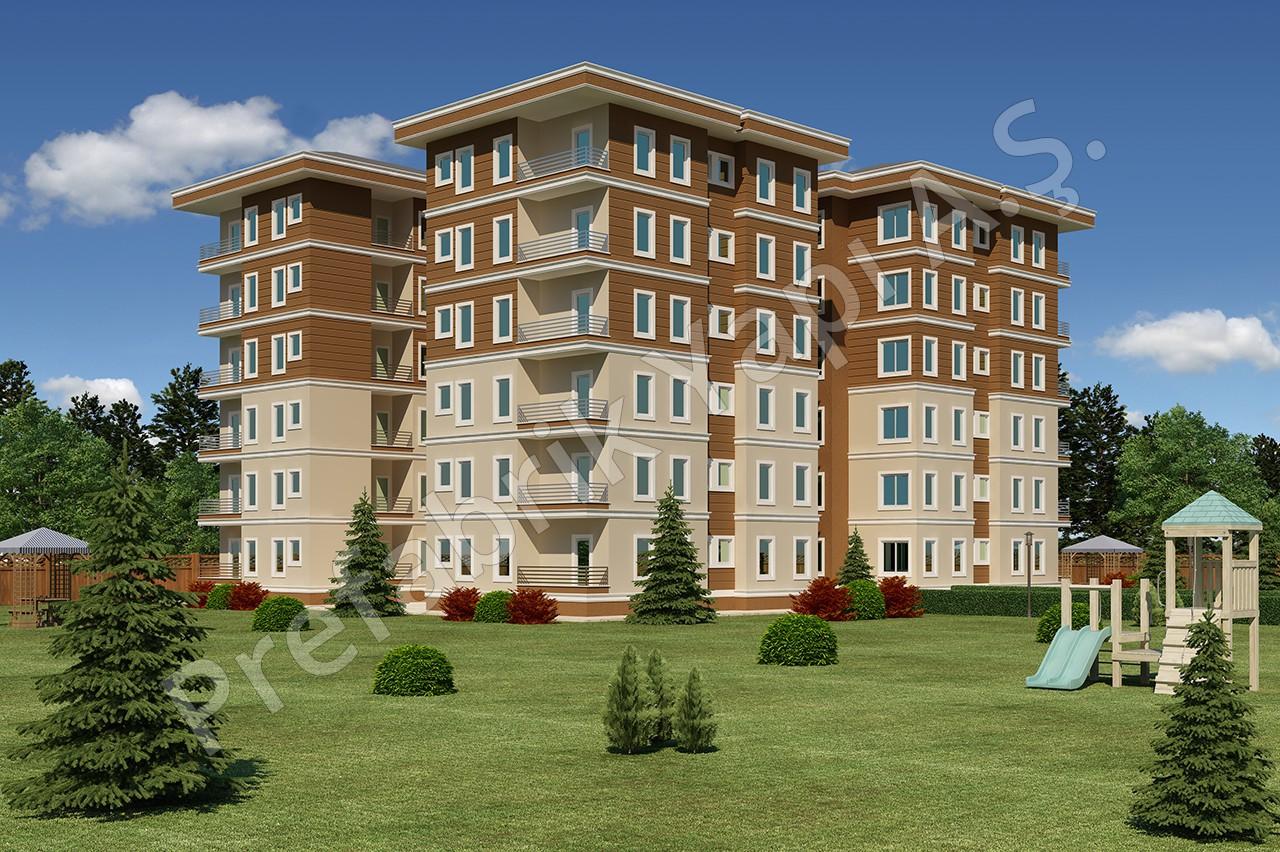 Apartman 4668 m2 1