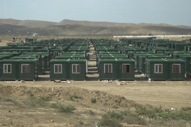 Container Camp Project In Azerbaijan