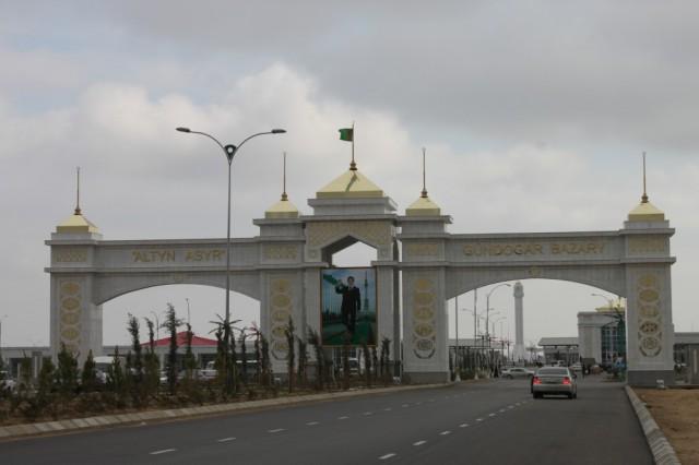 Turkmenistan Desert Bazaar
