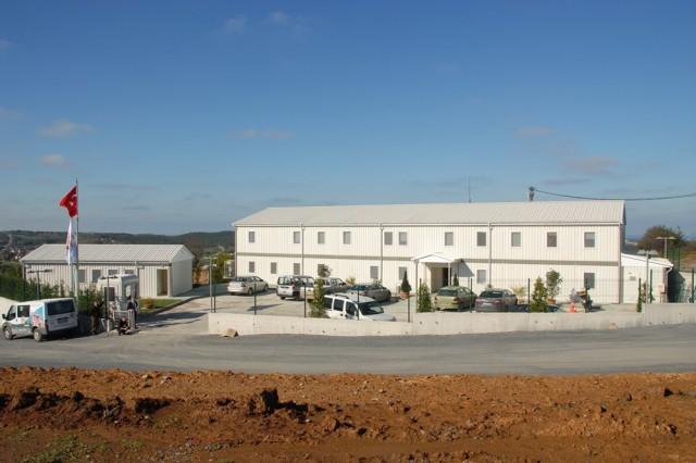 Eczacibasi Construction Ormanada Project Site Buildings