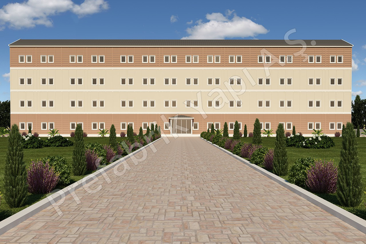 Hastane 4340 m2 1