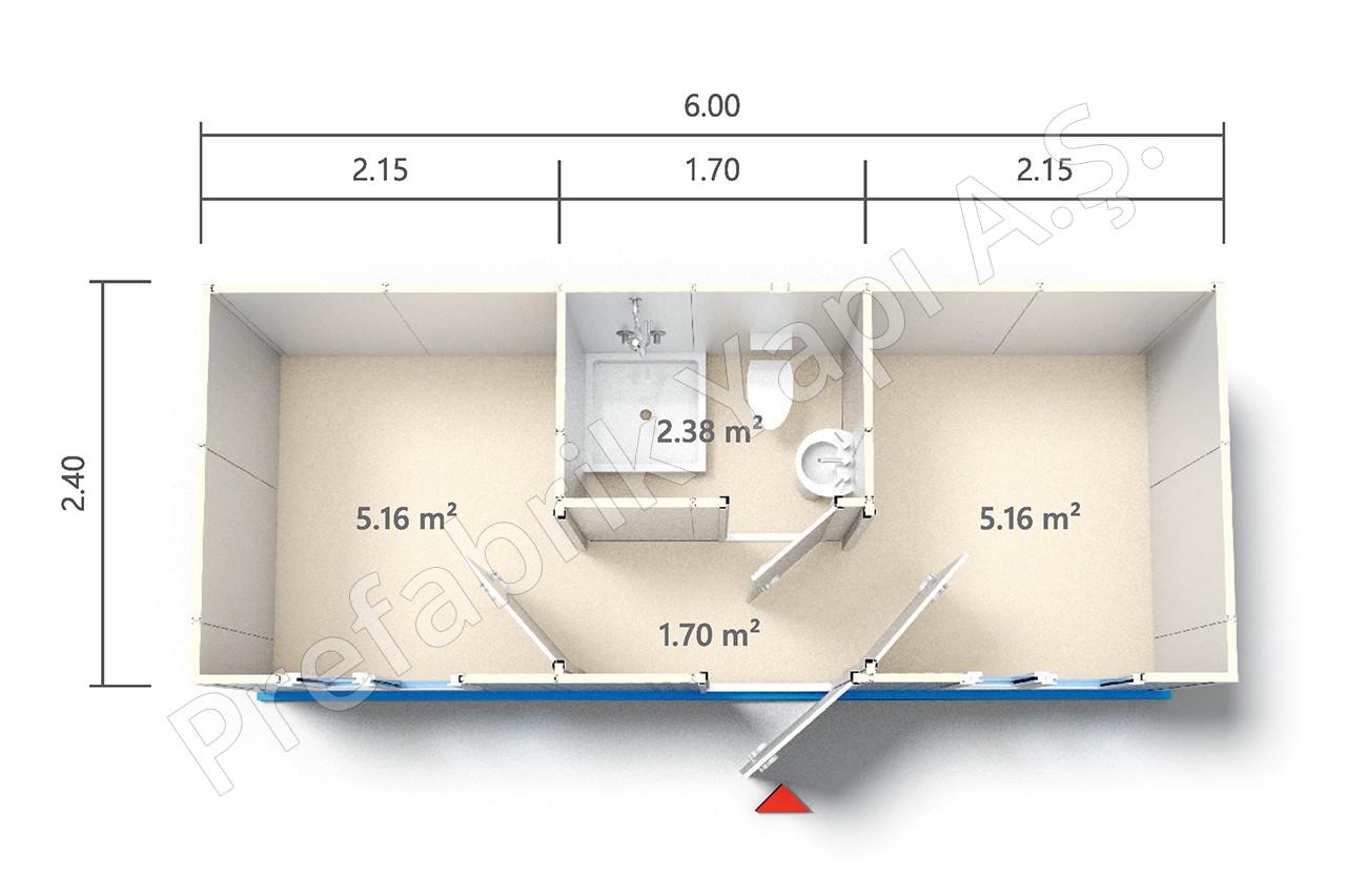 hkf 1 6 prefabricated solutions. Black Bedroom Furniture Sets. Home Design Ideas