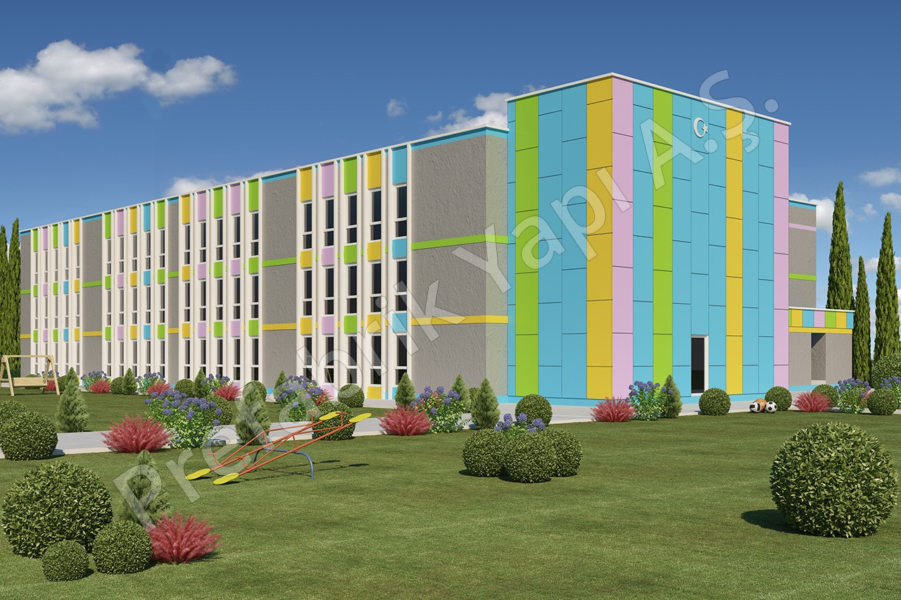 İlkokul 3036 m2 1