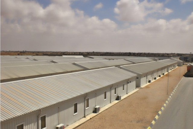 Me-Ammar Arabi Construction Site Buildings