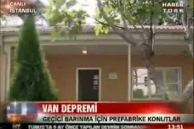Prefabrik Yapı A.Ş. in HaberTurk News