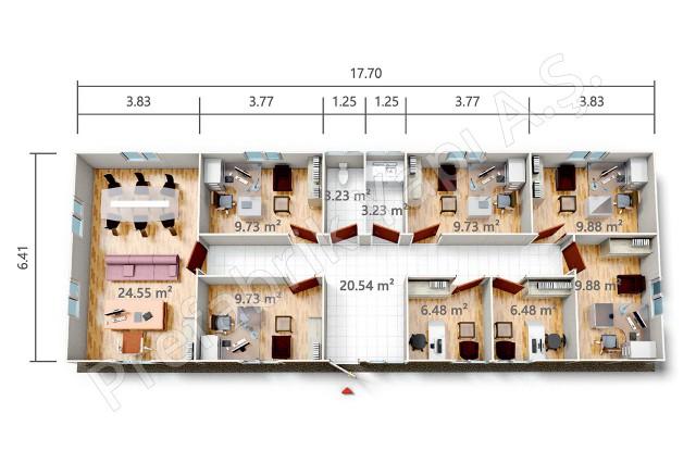 PRO 113 m2 Plan