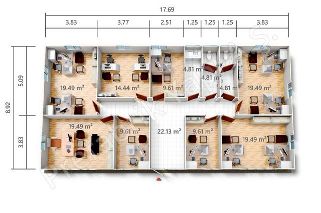 PRO 158 m2 Plan