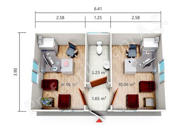 PRO 25 m2 Plan
