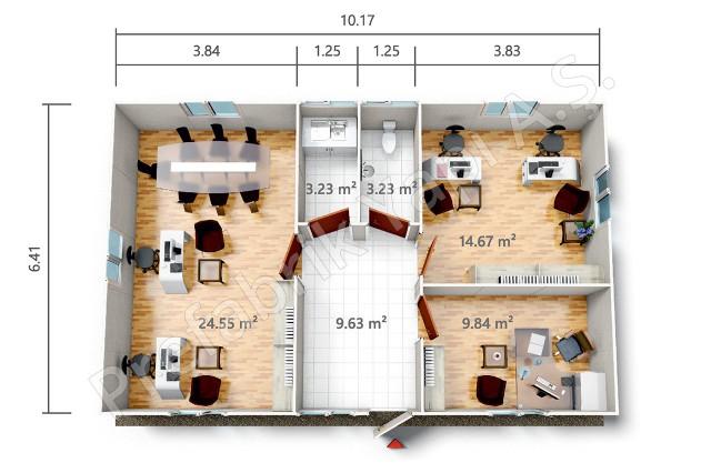 PRO 65 m2 Plan