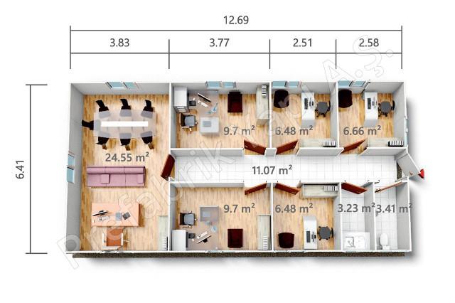 PRO 81 m2 Plan