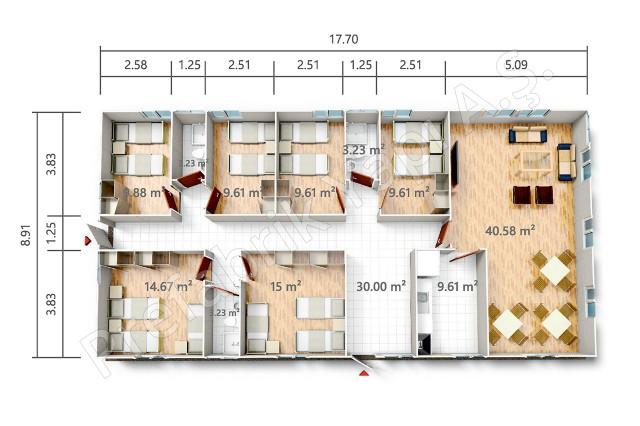 PRST 158 m2 Plan