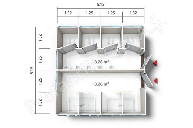 PRWD 27 m2 Plan