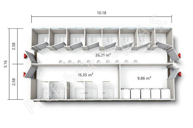 PRWD 52 m2 B Plan