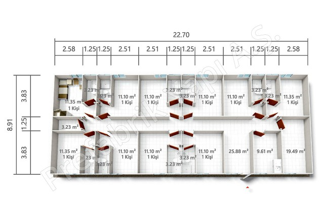 PRYT 202 m2 Plan