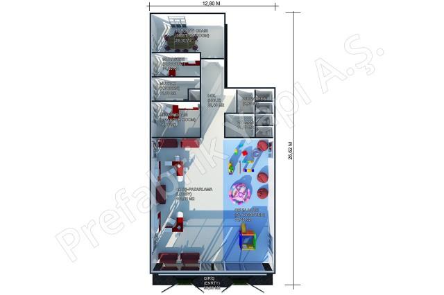 Sales Office 302 m2 Plan