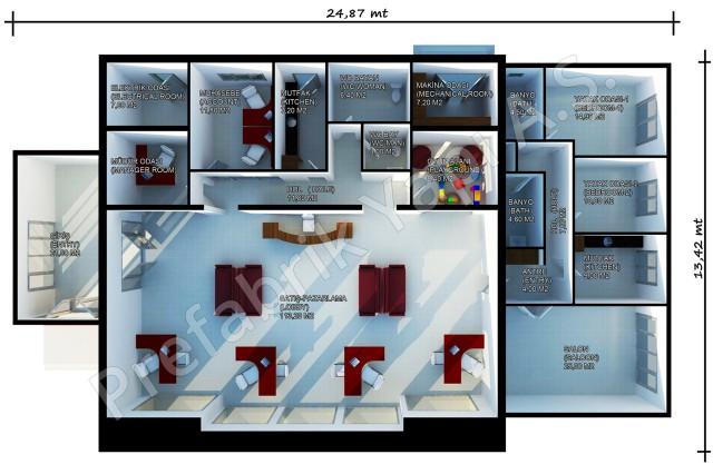 Sales Office 318 m2 Plan