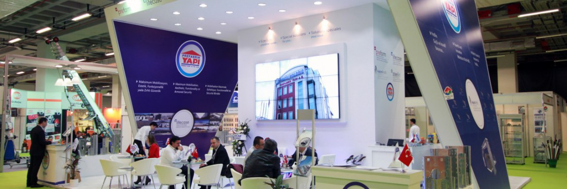 We became the focus of attention of the visitors at the 38th Turkeybuild Fair