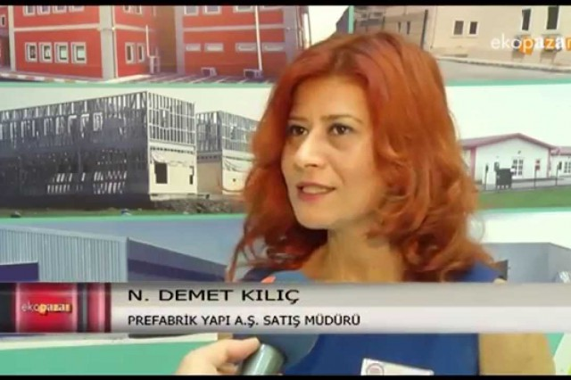 Turkeybuild 2015 Ekopazar [ATV Avrupa]