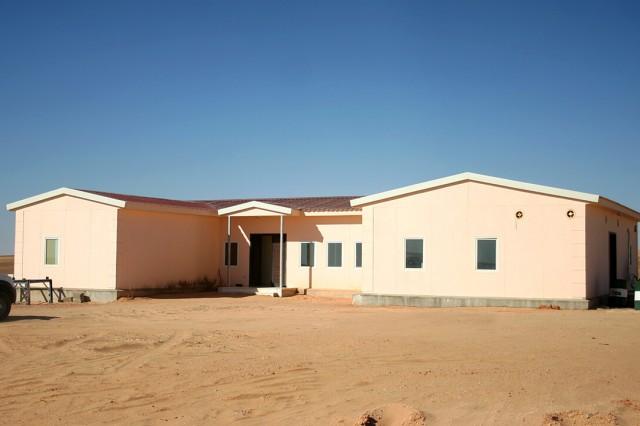 6500 m2 of Social Facilities