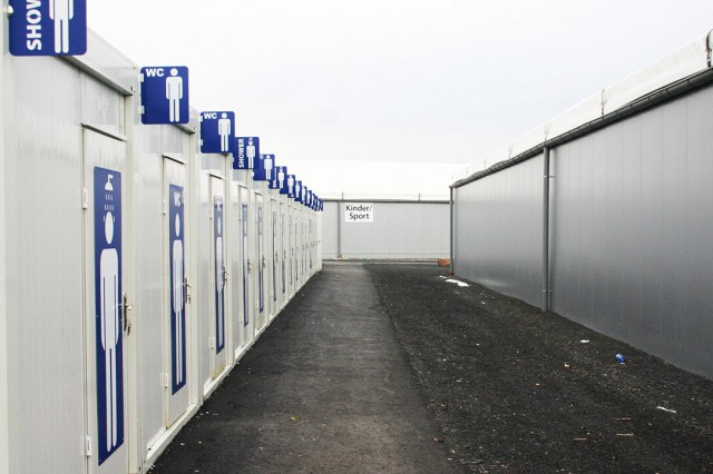 Germany Refugee Containers