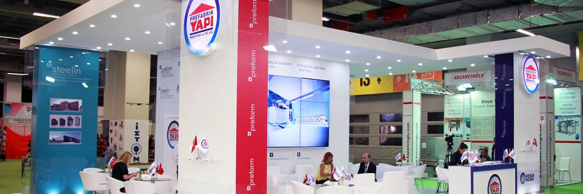 We took part in the 39th Turkeybuild Istanbul Fair