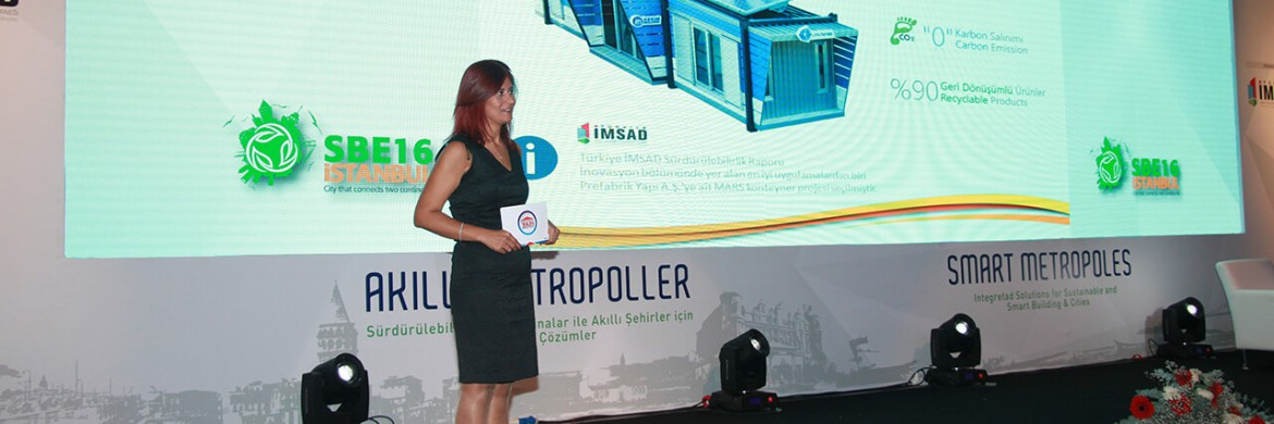 We introduced Mars Container in SBE16 Istanbul