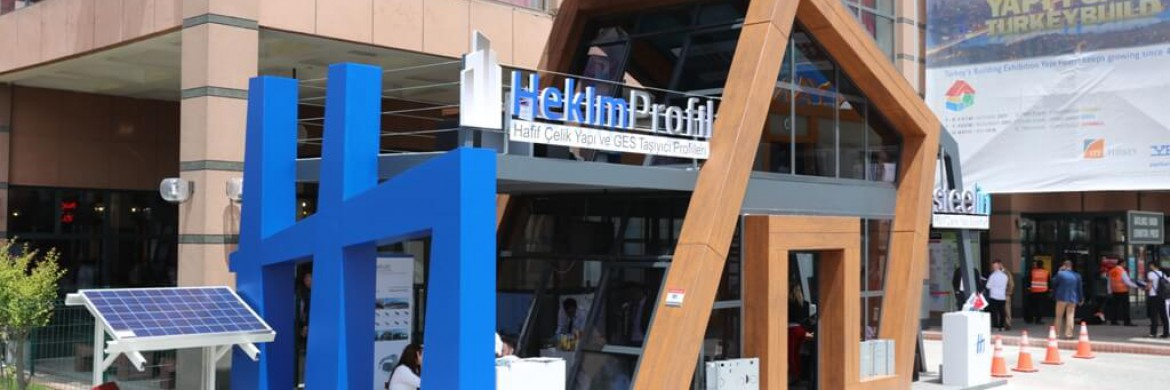 Hekim Profil Attended Turkeybuild Fair with GES Bearing Profiles