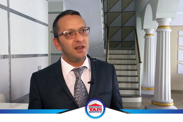 Mustafa Tolunay Tells the Prefabricated Buildings