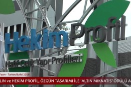 Hekim Holding at the Turkey build 2016 Fair with its 4 Companies and 2 Enterprises
