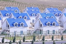 Light Steel Villas – Turkmenistan