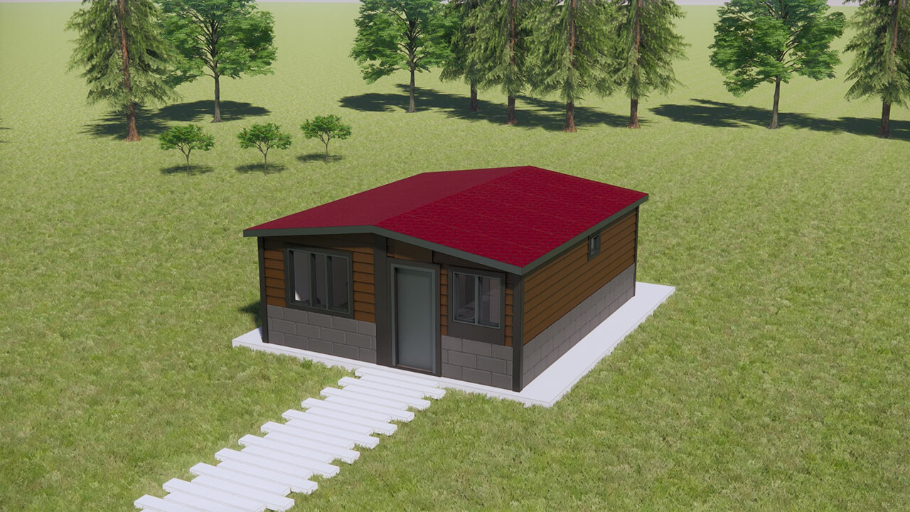 Package House 42 m²